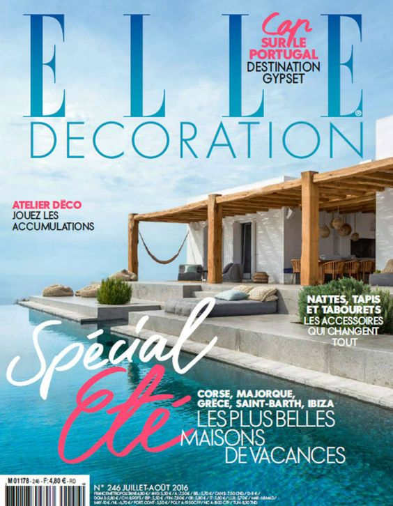 Best Interior Design Magazines: 5 Editions Of ELLE Décoration   Design Inspiration. Decorating Ideas. #elledecor #homedecor #topmagazines Read more: https://brabbu.com/blog/2016/09/best-interior-design-magazines-5-editions-of-elle-decoration/