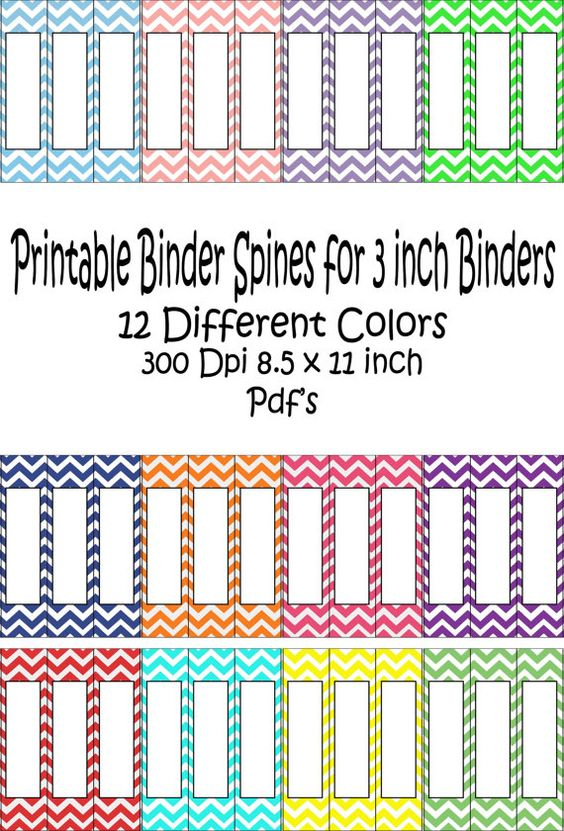 Pinterest the world s catalog of ideas for Half inch binder spine template