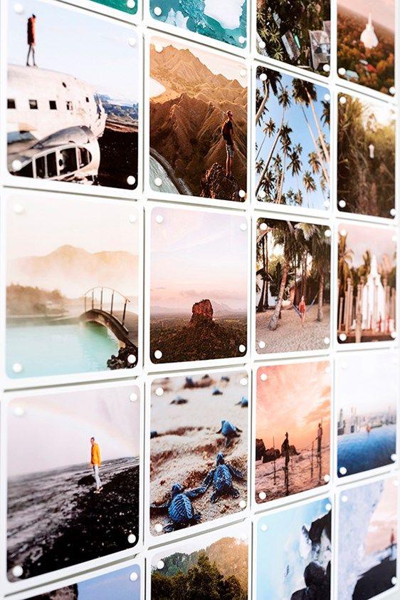 Mini Collage Fotogalerij Muren Fotocollage Muren Foto Muur Ideeen