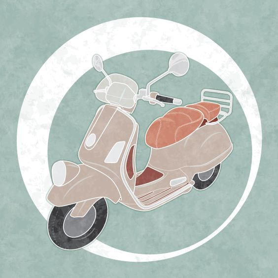 How to Create a Line Art Vintage Vector Scooter in Illustrator | Vectortuts+
