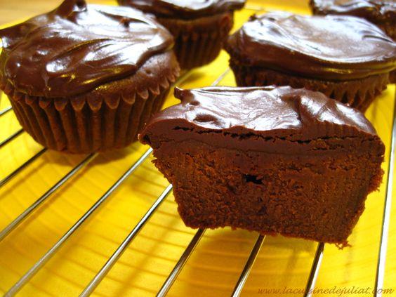 muffins  chocolat fondant au mascarpone