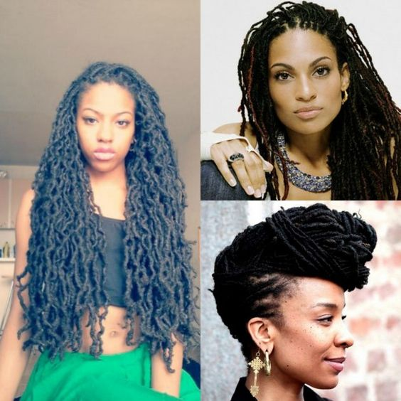 Loc Hairstyles, that's how long I want my hair to be, I probably have at least 2 more years
