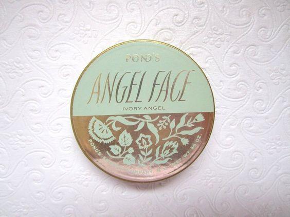 Mid Century Ponds Pressed Powder Compact Ivory Angel Creamy Rachel Foundation #PondsAngelFace