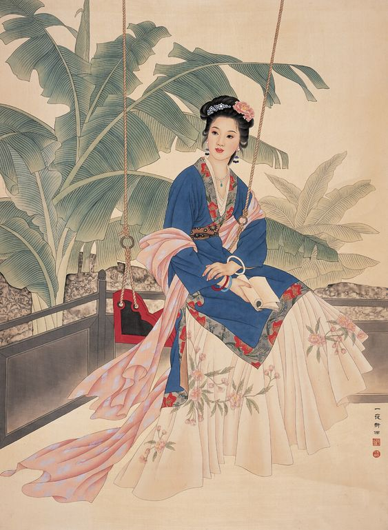 by Wang Mei Fang Zhao Guo Jing (Chinese) -- the same(?) one than here: http://www.painterlog.com/2013/04/wang-mei-fang-and-zhao-guo-jing.html