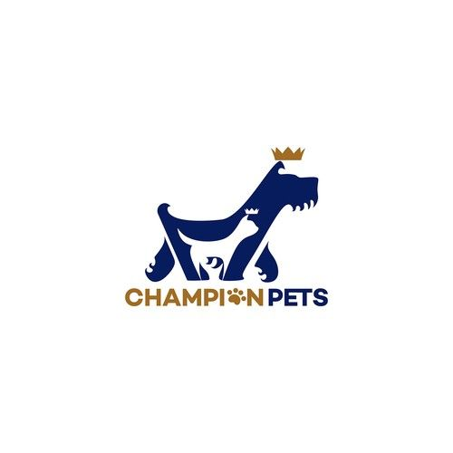 Champion Pets Design An Eye Catching Logo For Champion Pets I
