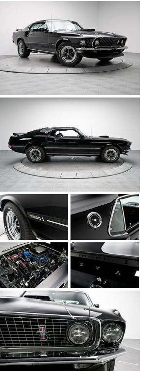 1969 Ford Mustang Mach 1!  Whether you're interested in restoring an old classic car or you just need to get your family's reliable transportation looking good after an accident, B & B Collision Corp in Royal Oak, MI is the company for you!  Call (248) 543-2929 or visit our website www.bandbcollision.com for more information!