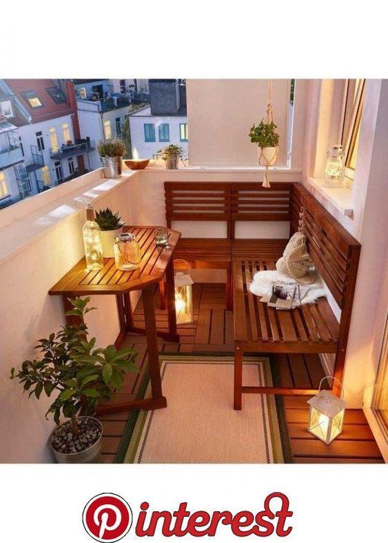 29 Meilleures Idees De Decoration De Balcon Pour Petit