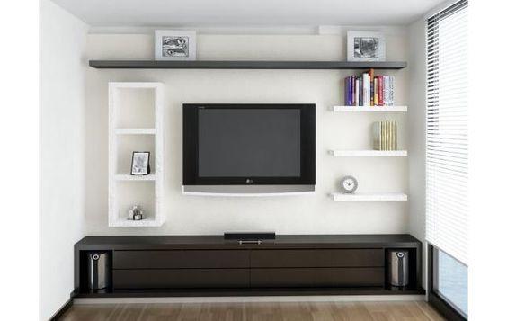 Muebles para televisor y equipo de sonido modernos - Muebles para televisores ...