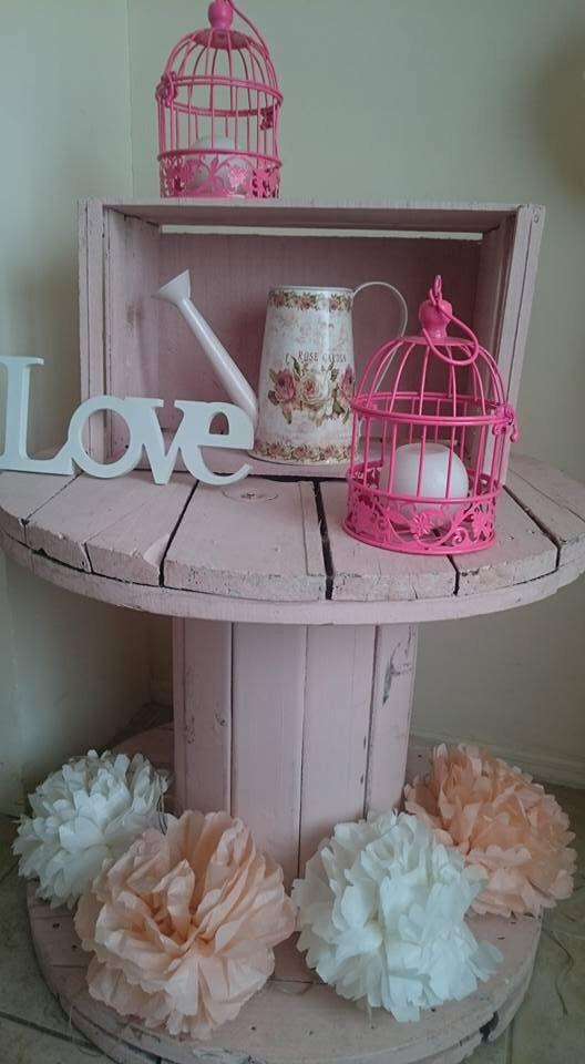 Accesorios vintage para decorar baby shower y cumplea os - Accesorios para decorar ...