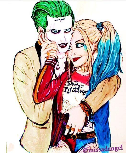 Pin On Harley Quinn Loves Joker