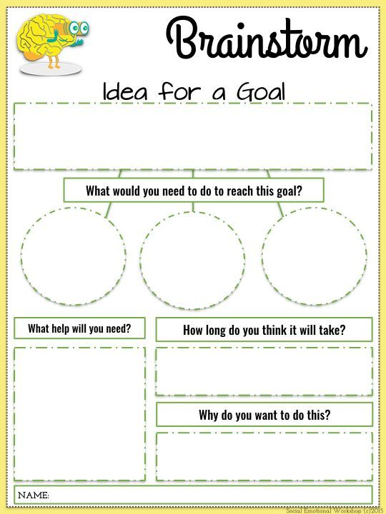 Career goal-setting worksheet essay