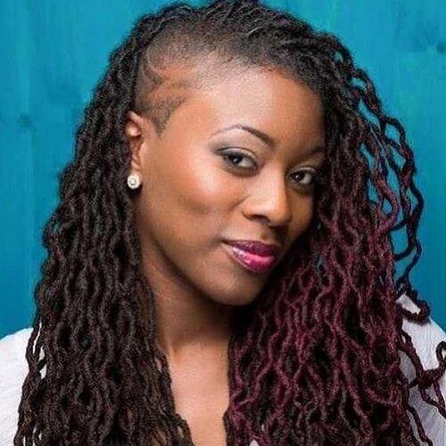 50 Ultra Cool Shaved Hairstyles For Black Women Sisterlocks