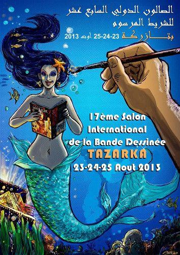 Africultures - Evénement - Salon international de la bande dessinée de Tazarka 2013