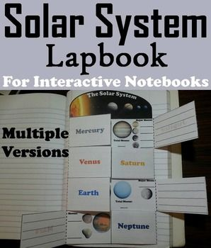 This lapbook on the planets of the solar system is a fun hands on activity for students to use in their interactive notebooks. Students may research different facts about each planet and write what they find on the provided blank lines.