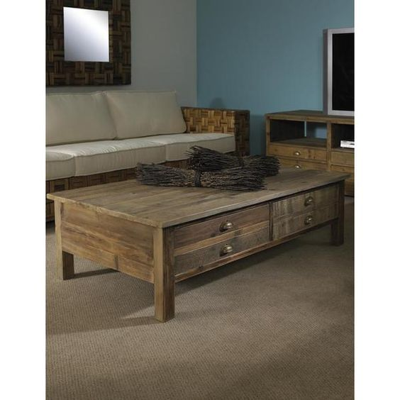 Salvaged Wood Artisan-crafted Coffee Table