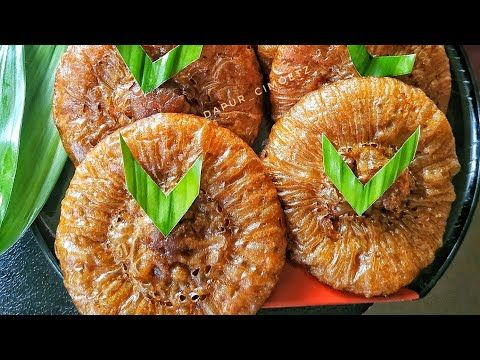Resep Kue Cucur Gula Merah Anti Gagal Youtube Resep Kue Resep Kue