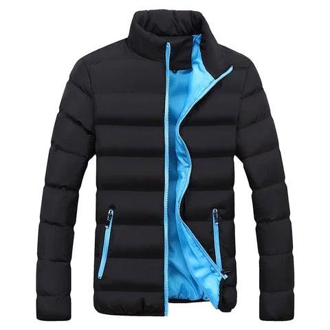 Nueva Chaqueta De Invierno Sólida Para Hombre Parkas Informales Para Hombre Abrigos Térm Chaquetas De Invierno Chalecos De Moda Hombre Camisas De Moda Hombre