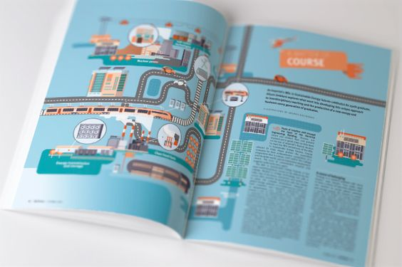 Imperial College London - Magazine Illustrations on Behance