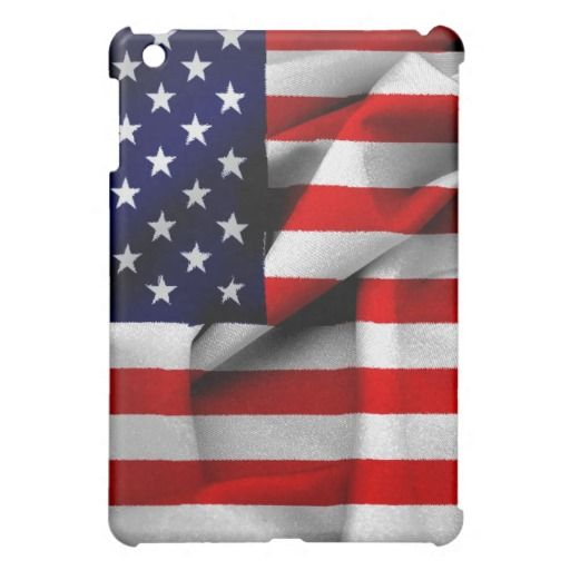 Fabric Effect US Flag Cover For The iPad Mini