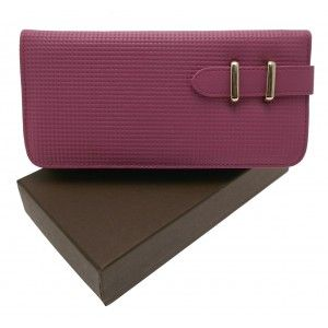 Lilac leather purse £15