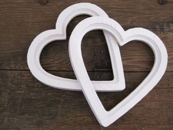 Vintage Heart Picture Frames Heart Shaped Frames White Nursery Wall Decor by SeaLoveAndSalt on Etsy https://www.etsy.com/listing/191055582/vintage-heart-picture-frames-heart
