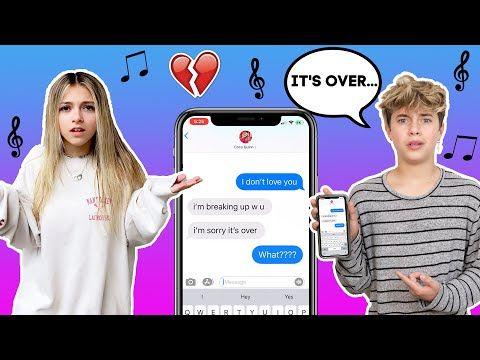 Tik Tok Lyric Text Prank On My Girlfriend We Broke Up Gavin Magnus Ft Coco Quinn Youtube Tik Tok Lyrics Lyric Text Prank Me As A Girlfriend