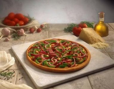 Cleaning pizza stones