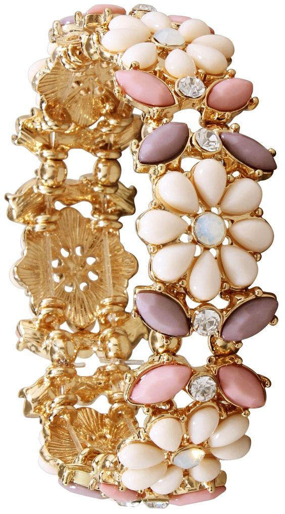 Armband pastel flowers bijou brigitte online shop fashion is passion pinterest pastel Bijoux brigitte catalogue