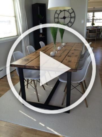 Modern Rustic Table Dining Tables And Sets Ottawa Kijiji In