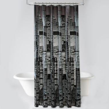 Curtains Ideas cityscape shower curtain : Cityscapes, Shower curtains and Curtains on Pinterest