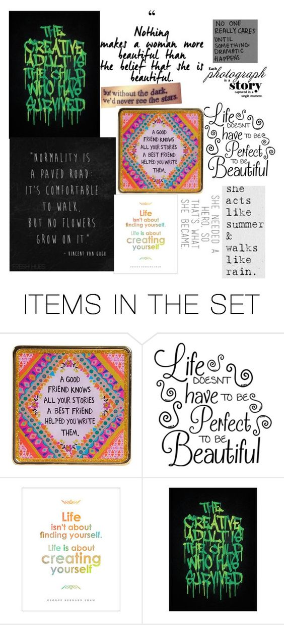 """Quotes"" by wolf-under-the-stars ❤ liked on Polyvore featuring art"