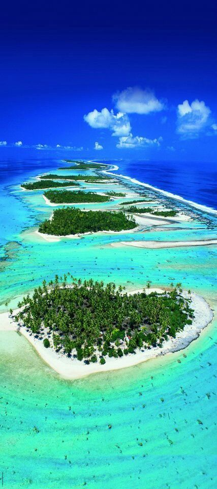 Tahiti is the largest island in French Polynesia and in the Society Islands