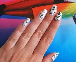 Jak zrobić nietypowy manicure w stylu lat 80-tych