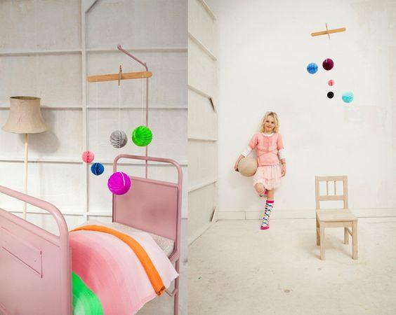 mobile idea: Dreamy Kids, Baby Mobiles, Bunting Mobiles, Bedroom Kids, Kids Accessories, Kids Totally, 10 Kids, Kids Rooms