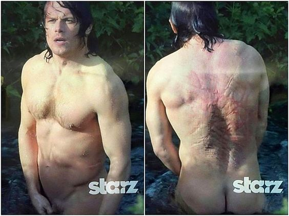 Ok Jamie Fraser Of Outlander Naked This Picture In The -4382