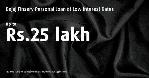 Deals | Get Bajaj Finserv Personal Loan at Low Interest ra