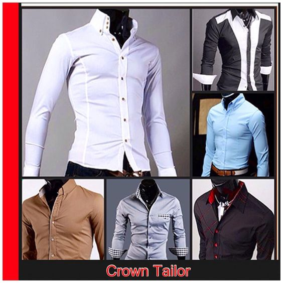Shirts for your classy branding, consult Crown Tailor for more!