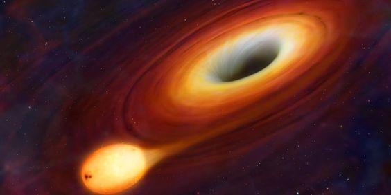 """Buracos negros binários """"dançam"""" como a Lua e a Terra - Mundo - RTP Notícias"""