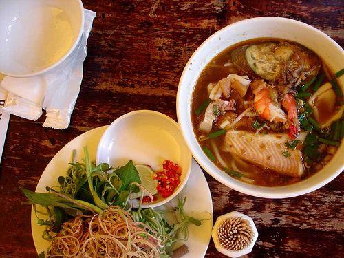 Vietnamese   Bun Mam