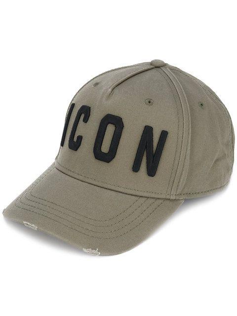 rétro rechercher le dernier prix fou Dsquared2 Icon baseball cap in 2019 | Designer caps ...