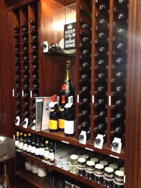 Lease-Fitch wine selection at Churchills Cigars Jupiter Florida