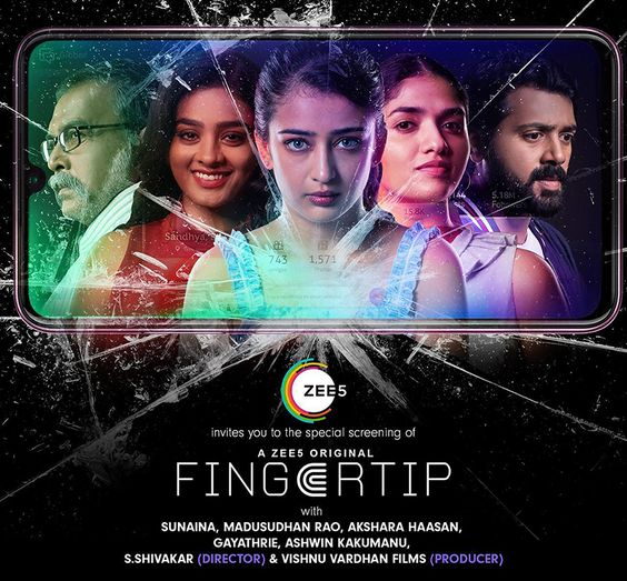 Zee5 Launches Fingertip – A Social Media Thriller Featuring Akshara Haasan