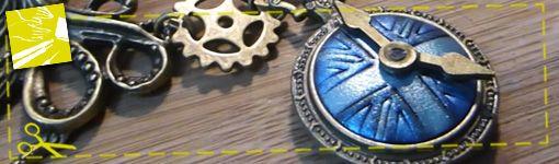 Tuto : réalisez un collier Union Jack steampunk
