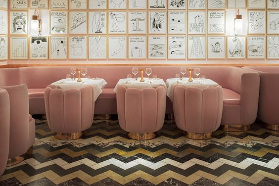 Sketch Restaurant - 9 conduit street London W1S 2XG.