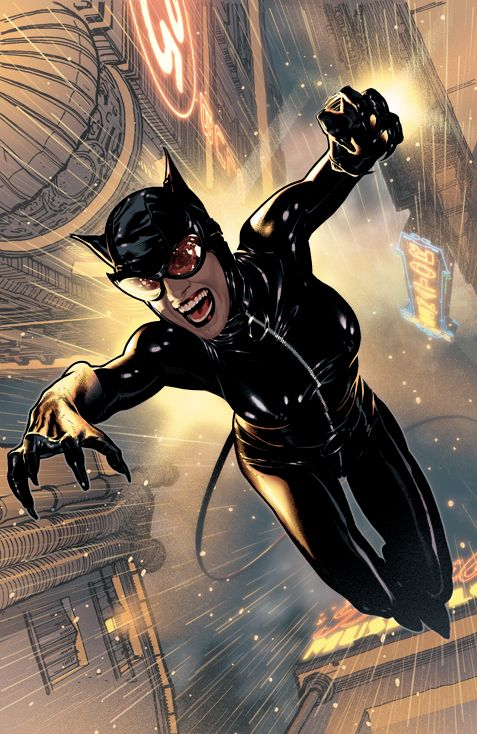 Adam Hughes - Catwoman 73