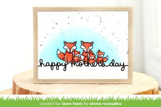 Lawn Fawn - MOM + ME - Clear STAMPS – Hallmark Scrapbook