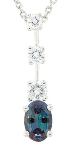 Natural Gem Oval .50 carat GEM Grade Alexandrite & Diamond Pendant set in Platinum AfricaGems,http://www.amazon.com/dp/B00688Z1NE/ref=cm_sw_r_pi_dp_wjIksb09PYBNB0B0