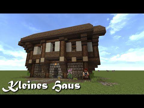 Minecraft Tutorial - Kleines Haus bauen #1 - YouTube