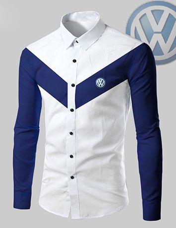 Ao Sơ Mi Nam Phối V In Logo B3118 Men Fashion Casual Shirts Fashion Suits For Men African Clothing For Men