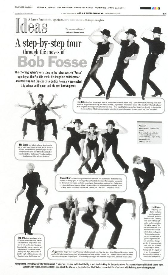 Fosse, step by step